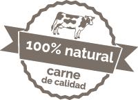 100% natural. Carne de calidad